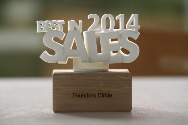 Founders cricle Award 2014